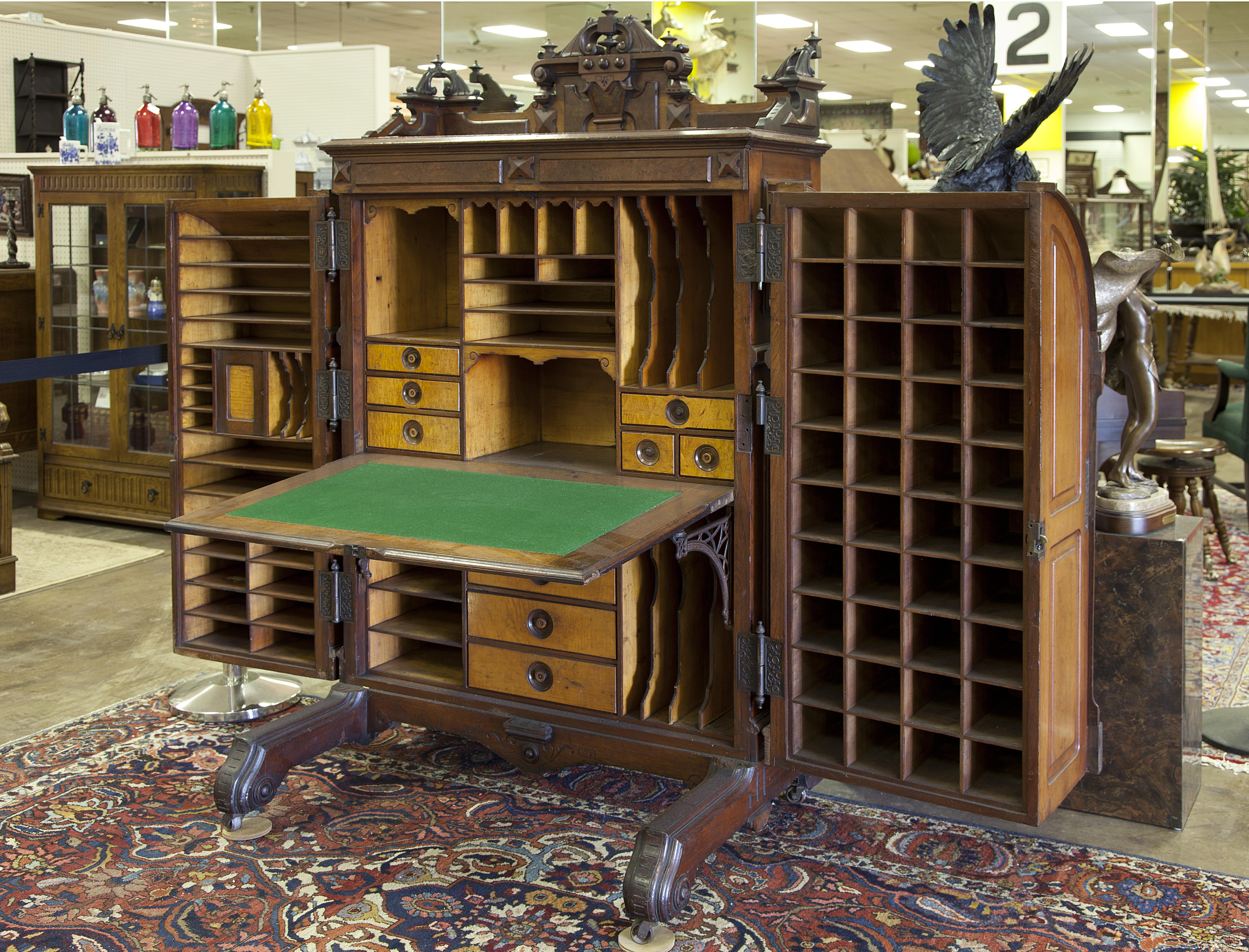 Thompsons Antique Center Of Texas - Antique furniture houston